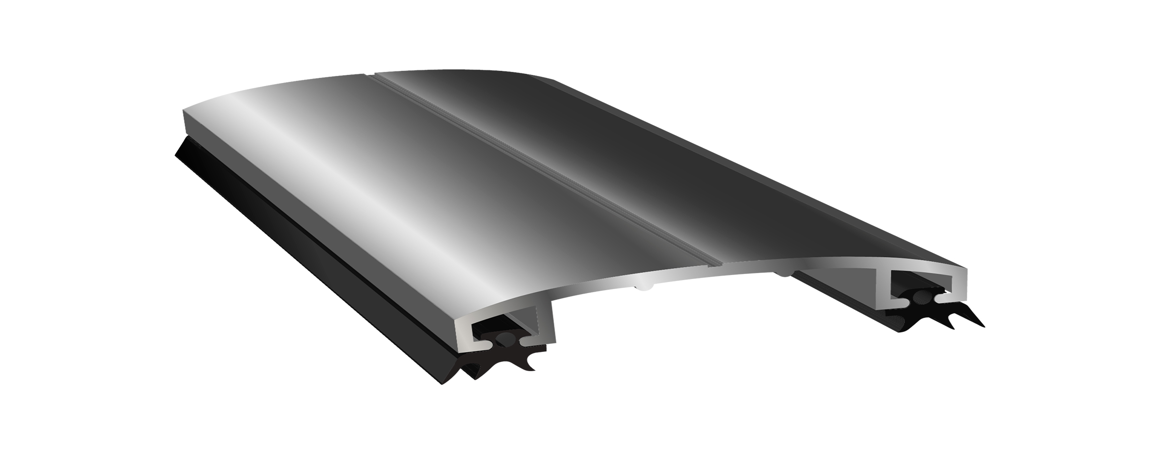 Алюминиевый профиль крышка (60мм)